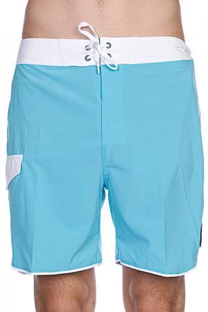 Пляжные мужские шорты  Super Boardie Sea Blue Globe. Цвет: голубой
