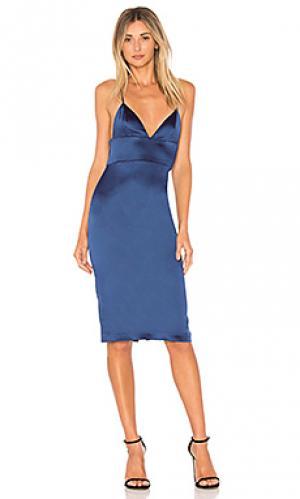 Платье montrose Amanda Uprichard. Цвет: синий