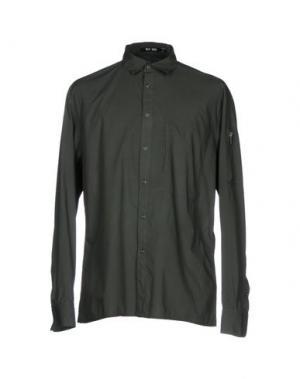 Pубашка BLK DNM. Цвет: зеленый-милитари