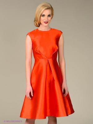 Платье Sweet Me. Цвет: оранжевый