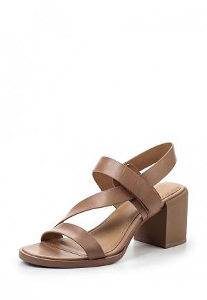 Босоножки DKNY. Цвет: коричневый