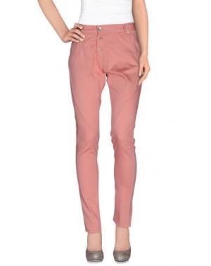Повседневные брюки RA-RE. Цвет: лососево-розовый