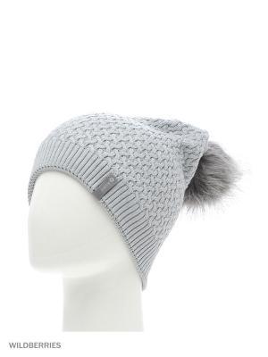 Шарлотка Беркле шапка женская с помпоном Berkle. Цвет: серый