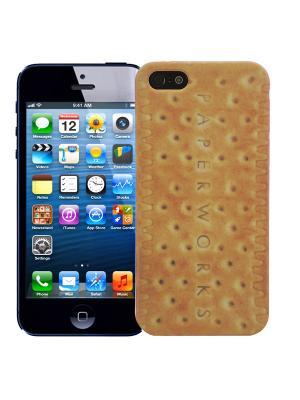 Чехол для iPhone 5/5s Печенье Kawaii Factory. Цвет: светло-оранжевый