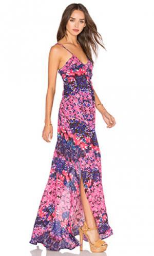 Макси платье fassa Rory Beca. Цвет: розовый