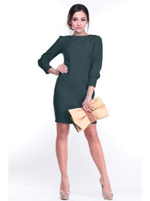 Платье Laura Bettini. Цвет: темно-зеленый