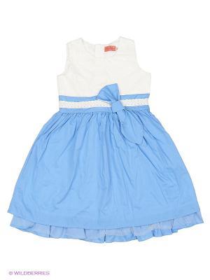Платье Wonderland. Цвет: голубой