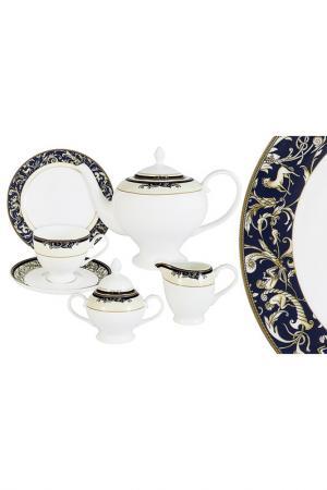 Чайный сервиз Олимпия EMERALD. Цвет: мультицвет