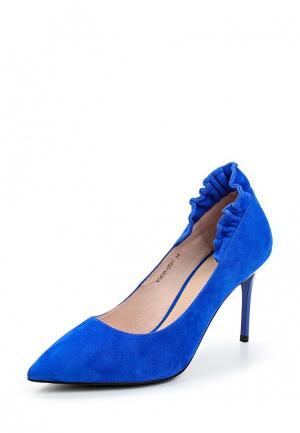 Туфли Ivolga. Цвет: синий