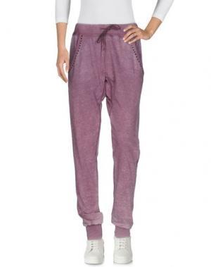 Повседневные брюки RA-RE. Цвет: розовато-лиловый