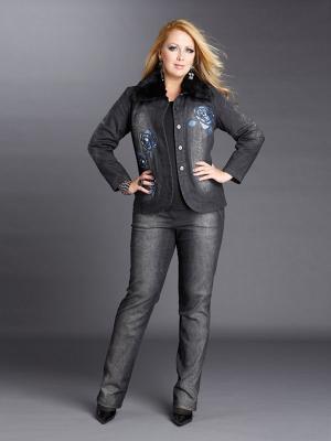 Куртка Giani F. Цвет: антрацитовый, синий