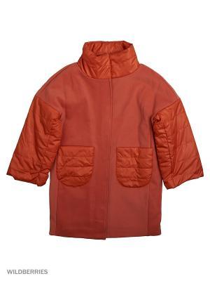 Пальто MARIELA. Цвет: рыжий, терракотовый