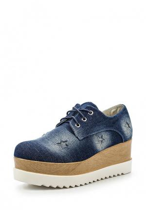 Ботинки La Bottine Souriante. Цвет: синий