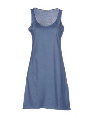 Короткое платье TOY G.. Цвет: грифельно-синий