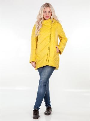 Куртка LORICCI. Цвет: желтый