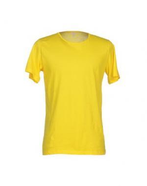 Футболка BLUEMINT. Цвет: желтый