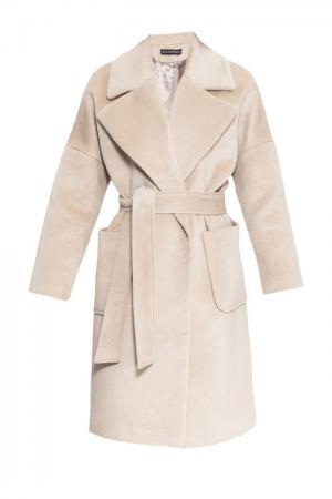 Пальто с поясом 161173 Anna Dubovitskaya