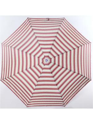 Зонт ArtRain. Цвет: малиновый, белый