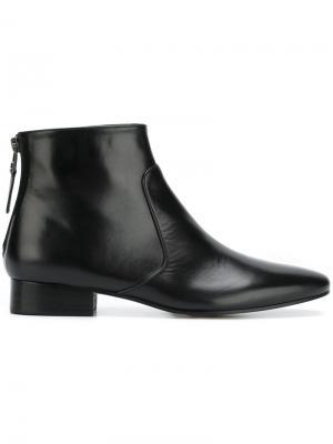 Ботинки по щиколотку Masscob. Цвет: чёрный