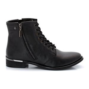 Ботинки кожаные Murat ELLE. Цвет: черный