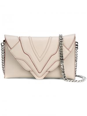 Sensua shoulder bag Elena Ghisellini. Цвет: телесный