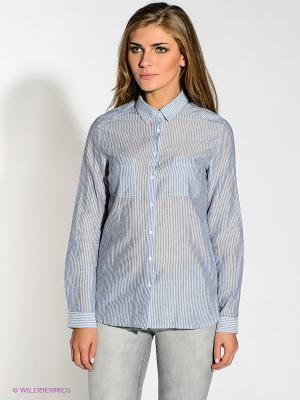 Рубашка New Look. Цвет: голубой