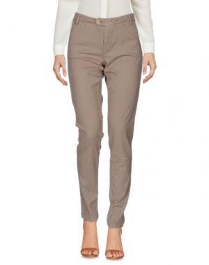 Повседневные брюки BONHEUR. Цвет: верблюжий