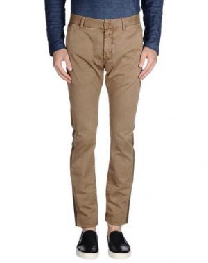 Повседневные брюки CLOSED. Цвет: хаки
