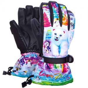 Перчатки Celtek. Цвет: lisa frank polar bear