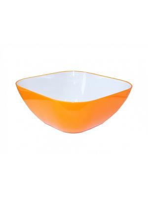 Салатник BRADEX. Цвет: оранжевый