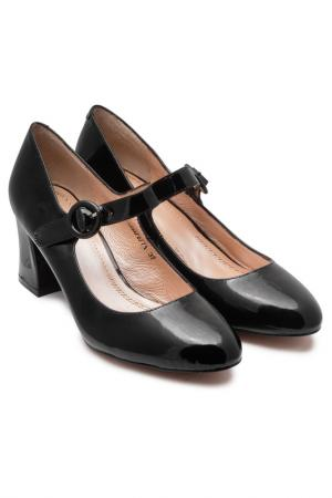 Туфли VALLEY. Цвет: черный