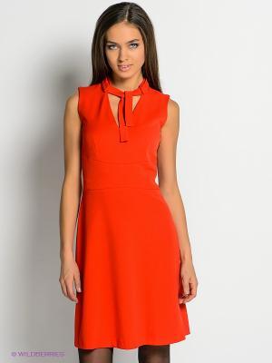 Платье River Woods. Цвет: красный