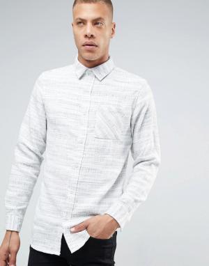 ADPT Рубашка с карманом. Цвет: серый
