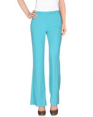 Повседневные брюки HANITA. Цвет: бирюзовый