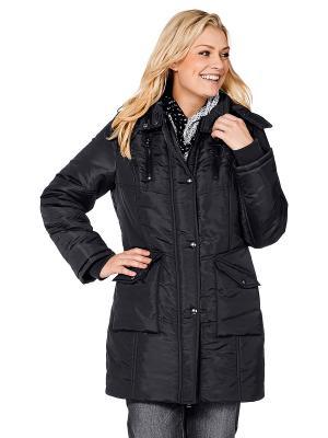 Куртка sheego. Цвет: черный