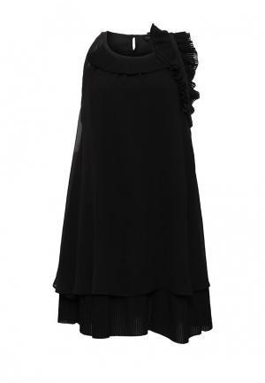 Платье Atos Lombardini. Цвет: черный