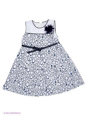 Платье Baby Rose. Цвет: синий