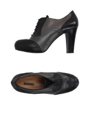 Обувь на шнурках CHIARINI BOLOGNA. Цвет: стальной серый