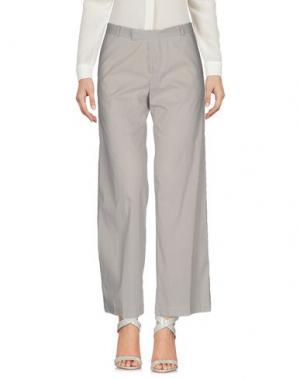Повседневные брюки PF PAOLA FRANI. Цвет: серый