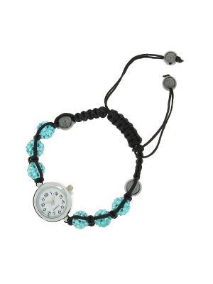 Часы-браслет Olere. Цвет: черный, бирюзовый