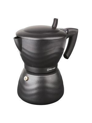 Гейзерная кофеварка 6 чашек Walzer Rondell 432-RDA. Цвет: черный