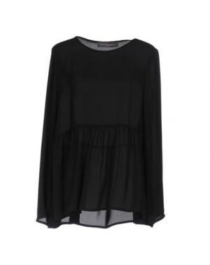 Блузка CARLA MONTANARINI. Цвет: черный
