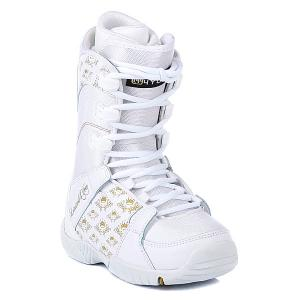 Ботинки для сноуборда детские  Thirteen Girls White Limited4You. Цвет: белый