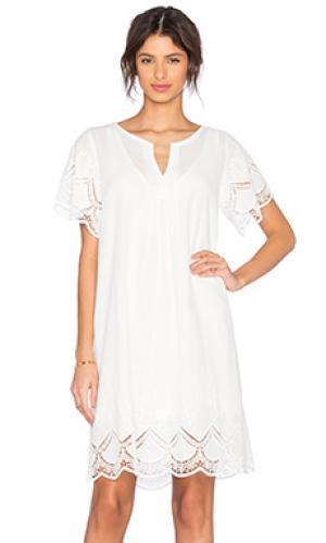 Платье rilfix MKT studio. Цвет: белый
