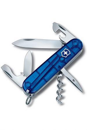 Нож перочинный 12 функций Victorinox. Цвет: синий