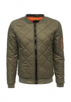 Куртка утепленная Blend. Цвет: хаки
