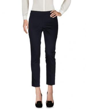 Повседневные брюки EDAS. Цвет: темно-синий