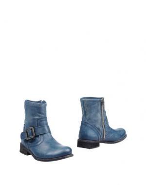 Полусапоги и высокие ботинки FELMINI. Цвет: грифельно-синий