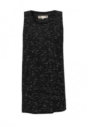Майка Solid. Цвет: черный