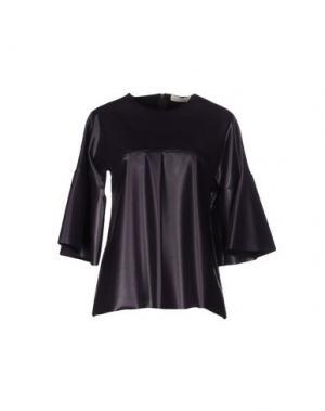 Блузка TROU AUX BICHES. Цвет: фиолетовый
